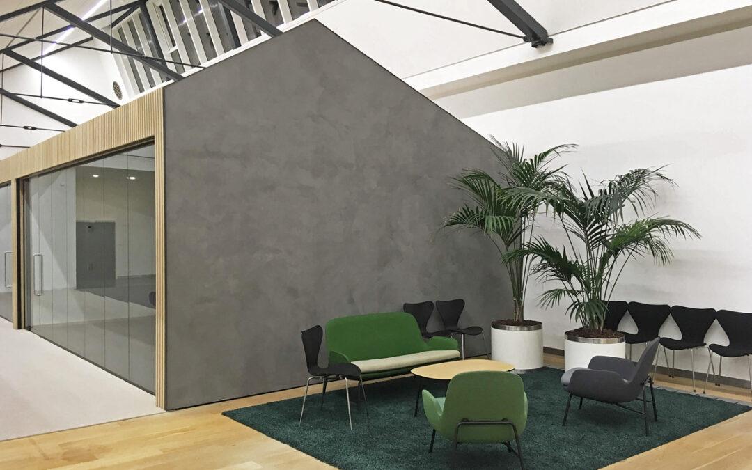 Nye kontorer/mødelokaler i kontorområde