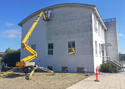 Opfriskning af gammel erhvervsbygning